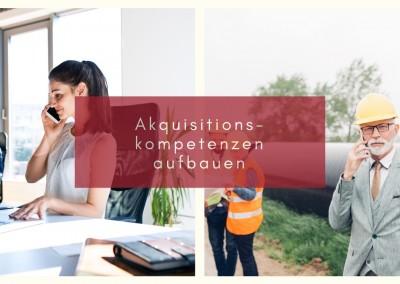 Akquisitions-kompetenzen aufbauen