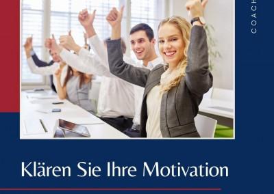 Coaching. Intrinsische Motivation